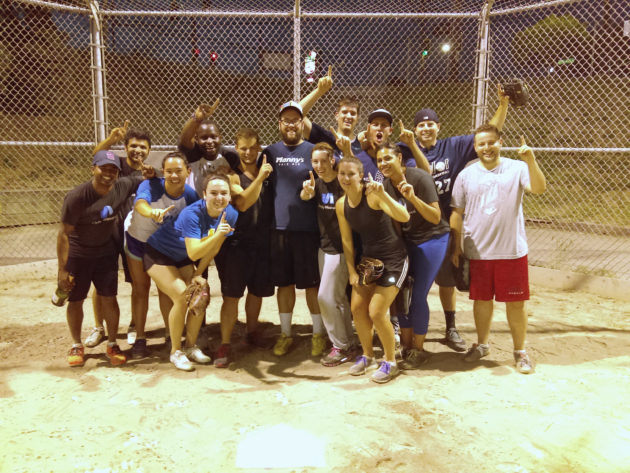 IT Sports League champs