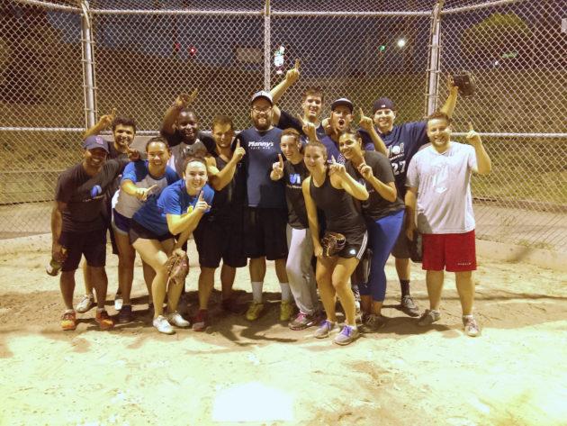 IT Sports League champs
