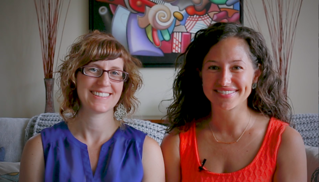 Sproutable co-founders Alanna Beebe and Julietta Skoog