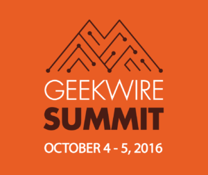 GeekWire Summit - October 4-5, 2016