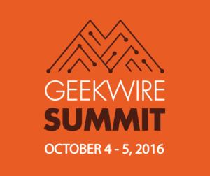 GeekWire Summit - October 4-5, 2016