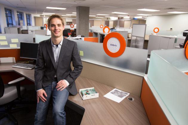 WiBotic CEO Ben Waters. Photo via WiBotic.