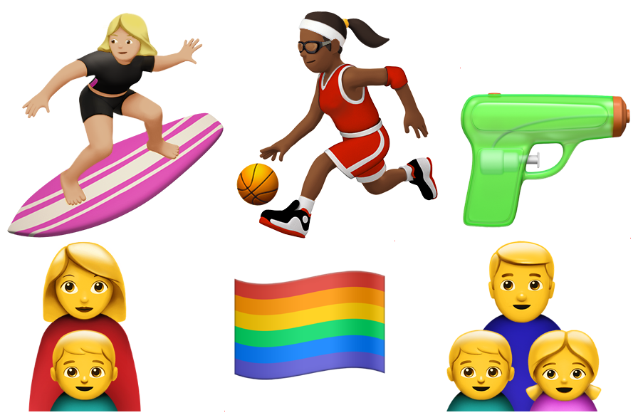 Rainbow Flag And More Gender Diverse Emoji Coming To Apple