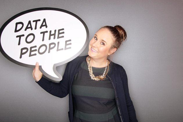 Tableau's Sasha Pasulka believes data will help Clinton win the election.