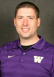 Head UW Football Trainer Rob Scheidegger. Photo via UW.