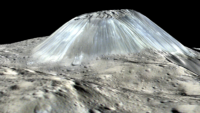 Ahuna Mons on Ceres
