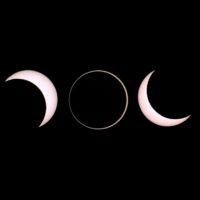 Annular solar eclipse from Slooh