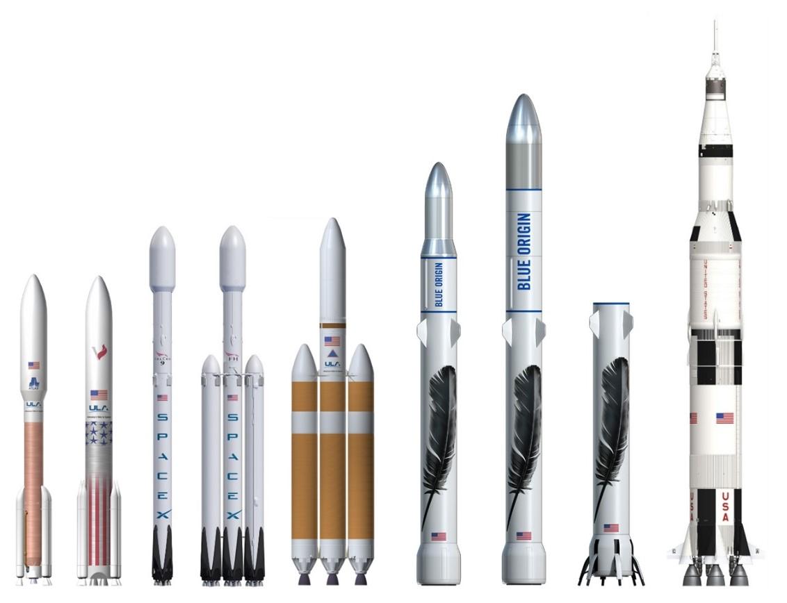 2 Story Home Plans Blue Origin Unveils New Glenn Orbital Rocket Design