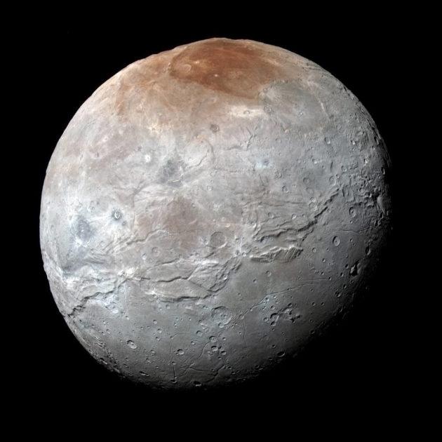 Charon, Pluto's biggest moon