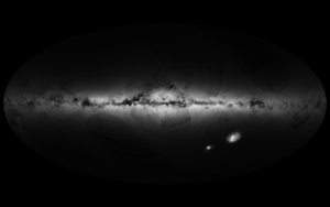 Gaia all-sky map of Milky Way