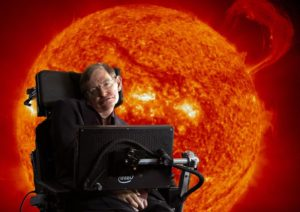 "Stephen Hawking in ""Into the Universe"" on Discovery Channel"