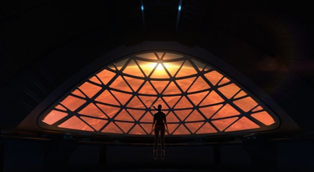 Mars spaceship