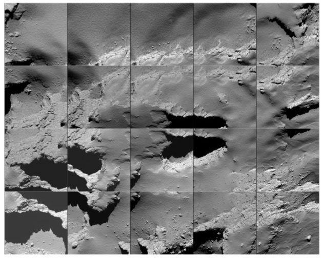 Rosetta descent images