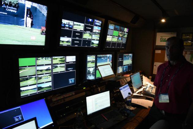 PGA Tour Championship broadcast tech