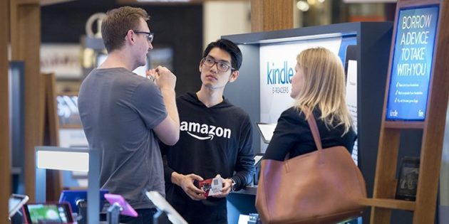 Amazon stores popping up in USA malls