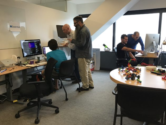 The Essential team working out of Madrona Venture Labs in Seattle. Credit: Madrona Venture Labs.