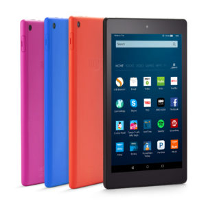 Amazon's new Fire HD 8. Photo via Amazon.
