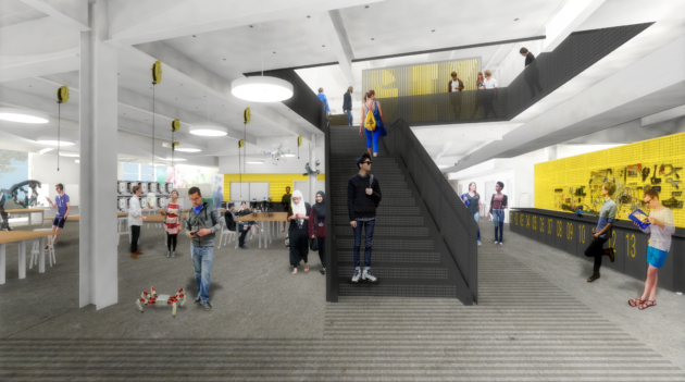 The GIX building will include a maker space... Credit: