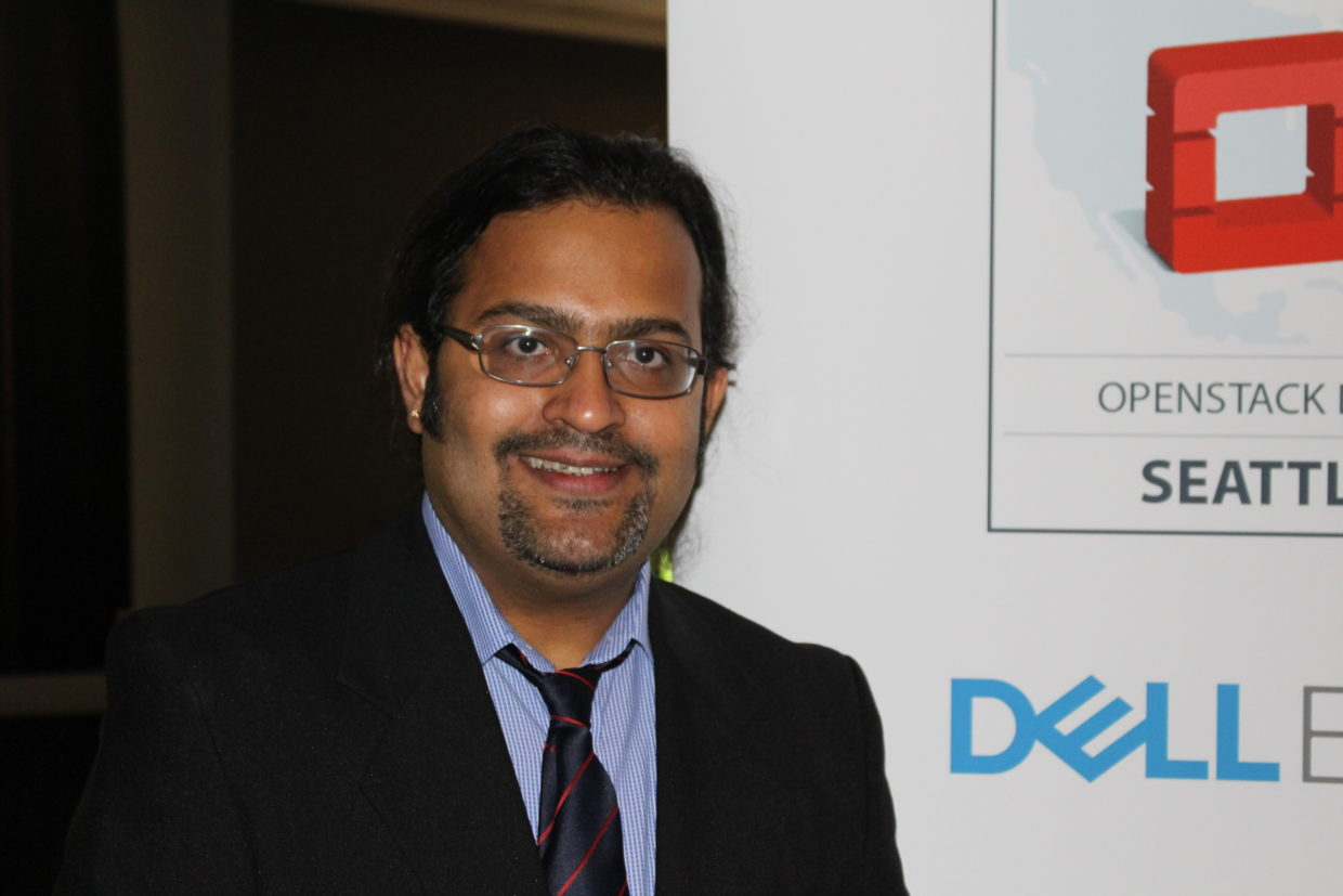 Sriram Subramanian, founder CEO of consultancy CloudDon, organized OpenStack Days