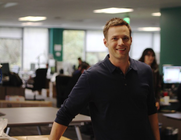 OfferUp CEO Nick Huzar at the company's Bellevue office. Credit: OfferUp.