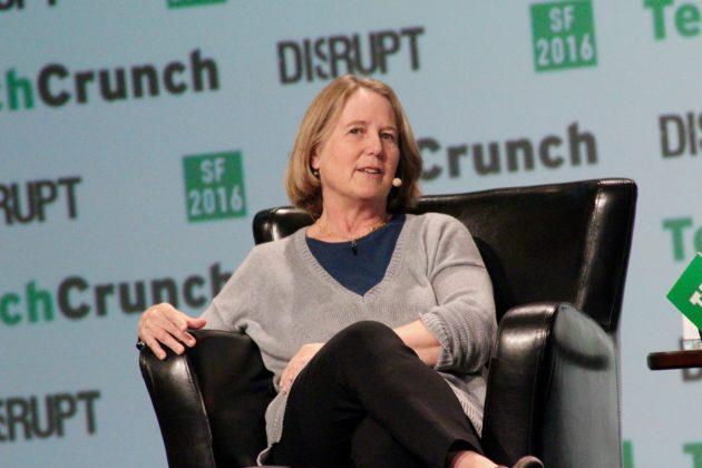 Diane Greene, Senior VP, Google (Taylor Soper/GeekWire)