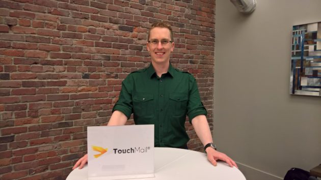 TouchMail CEO Matthew Carlson.