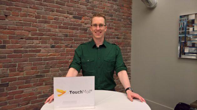TouchMail CEO Matthew Carlson.