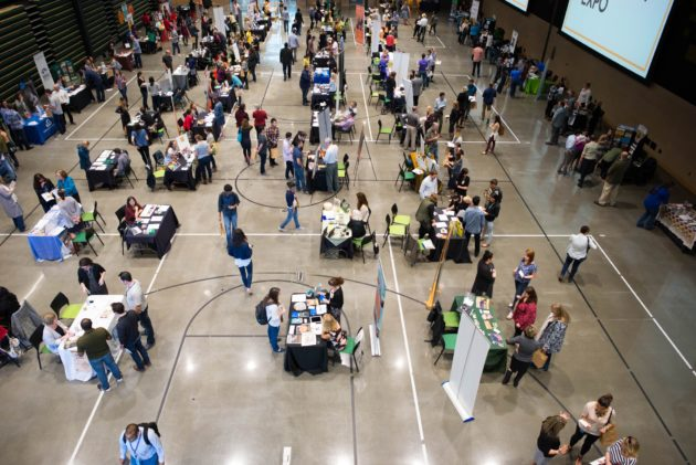 Some 67 nonprofits shared information about their organization at the Amazon event. (Amazon)