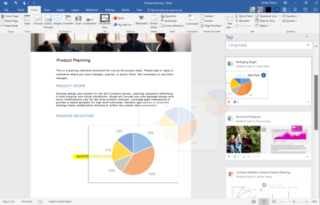 Microsoft just added artificial intelligence features to Office 365 and Dynamics 365