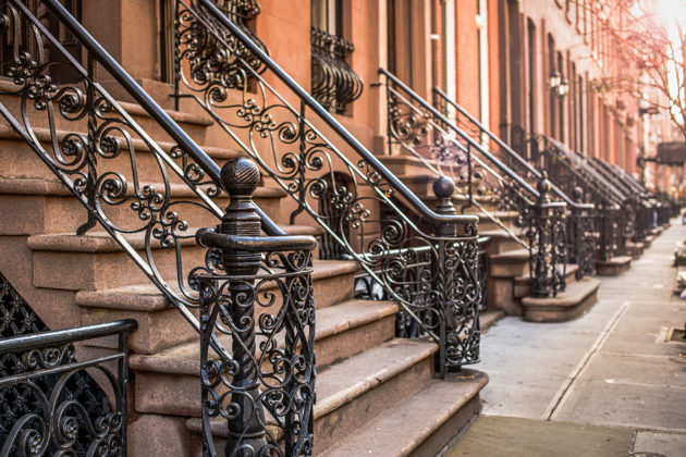 Yvette Hobzek was allegedly unable to book a New York City brownstone because of her ethnicity. (Photo via BigStock).