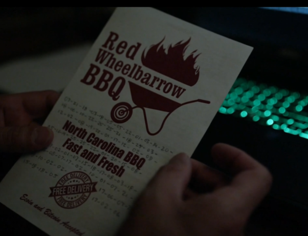 Figure 6: A code on the Red Wheelbarrow ad.