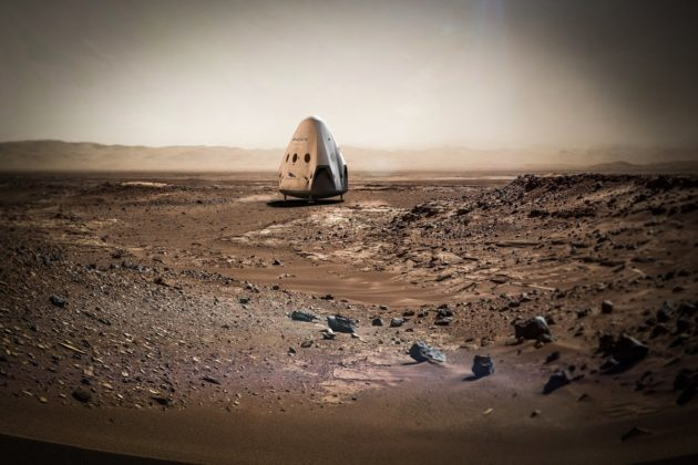 Musk's goal is to send 1 million settlers to Mars within 100 years. Photo: SpaceX.