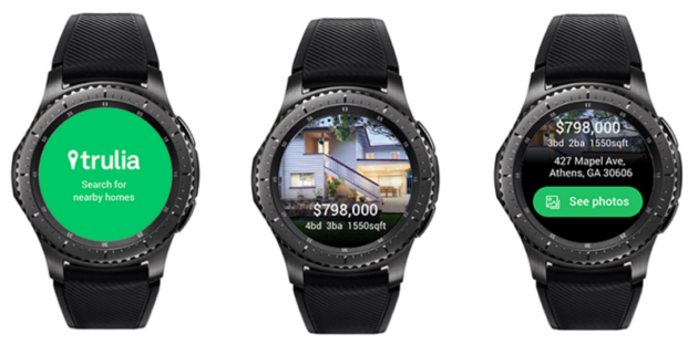 Time to go home: Trulia adds real estate app to Samsung Gear S3