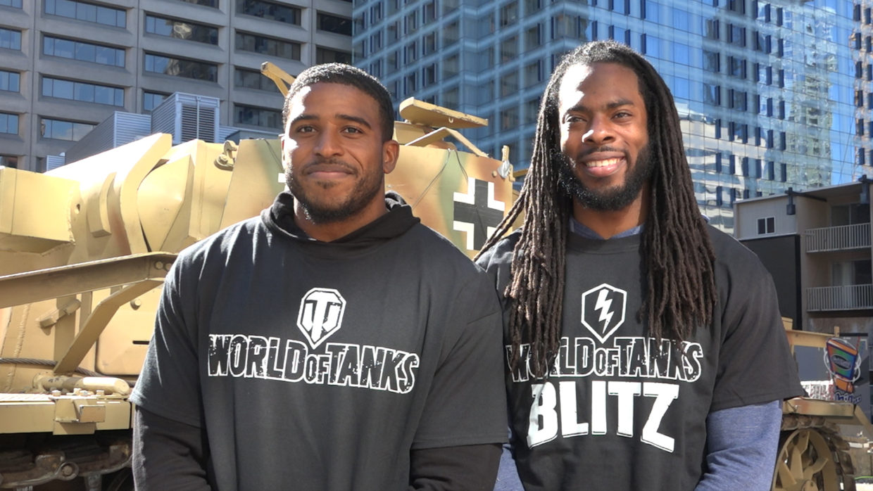 Seahawks Richard Sherman & Bobby Wagner talk video games