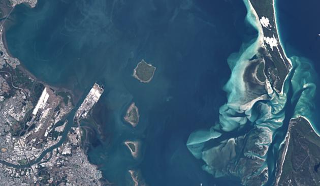 Sentinel-2 image of Brisbane