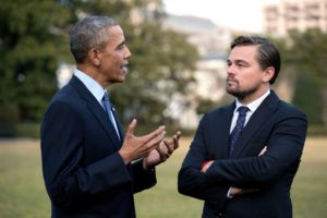 Obama and DiCaprio