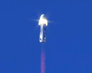 Blue Origin spacecraft separation