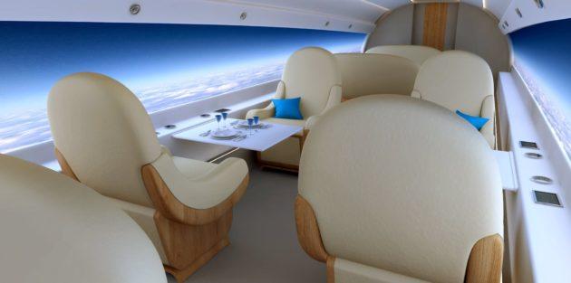 Spike jet interior