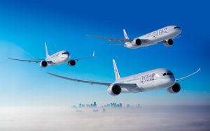 Qatar Airways' Boeing jets