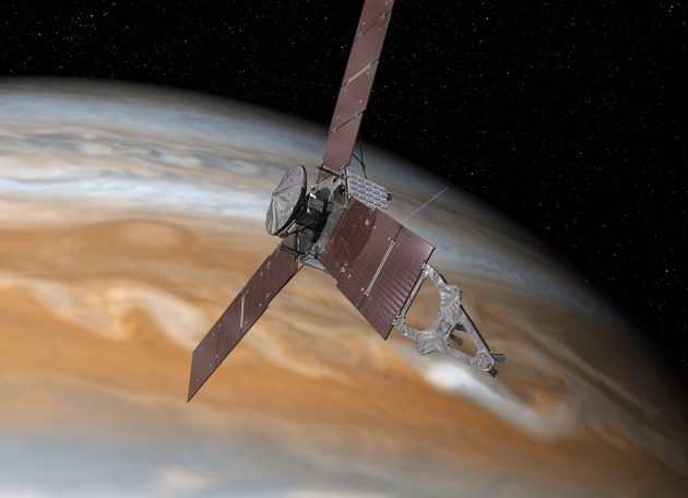 Juno close flyby of Jupiter