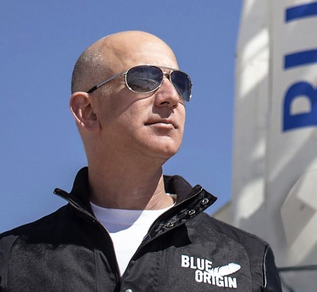 Bezos at Blue Origin