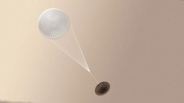 Schiaparelli lander