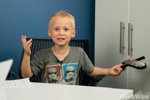 Wade says he prefers kids cartoons like Ninjago to politcs.