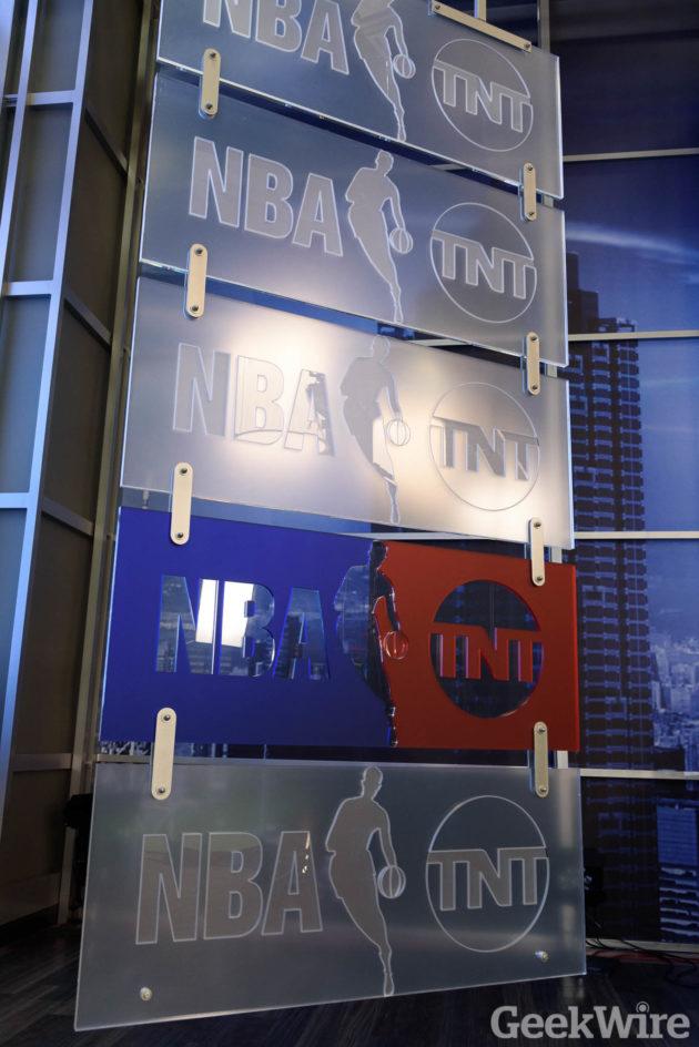 Turner Studios - NBA. Photo by Kevin Lisota/GeekWire