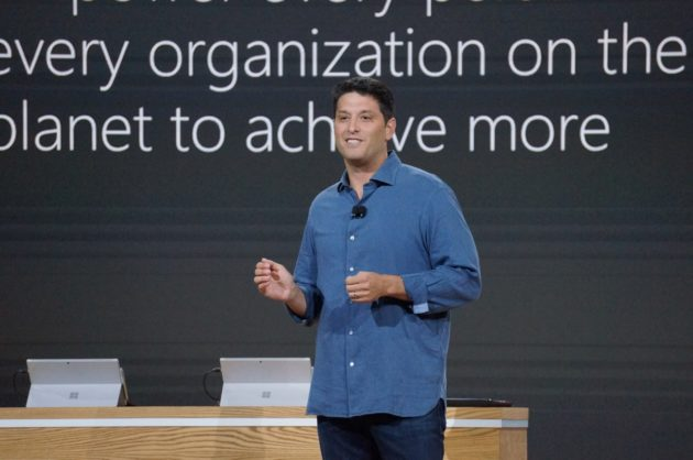 Microsoft Windows chief Terry Myerson. (GeekWire File Photo / Nat Levy)