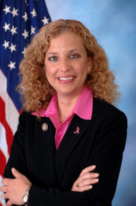 Former DNC Chair Debbie Wasserman Schultz. (Photo via Wikimedia Commons).