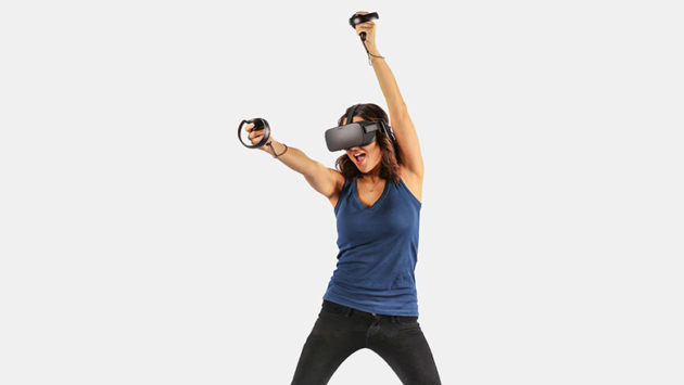 The new Oculus Touch controllers came available for preorder this week. Credit: Oculus.