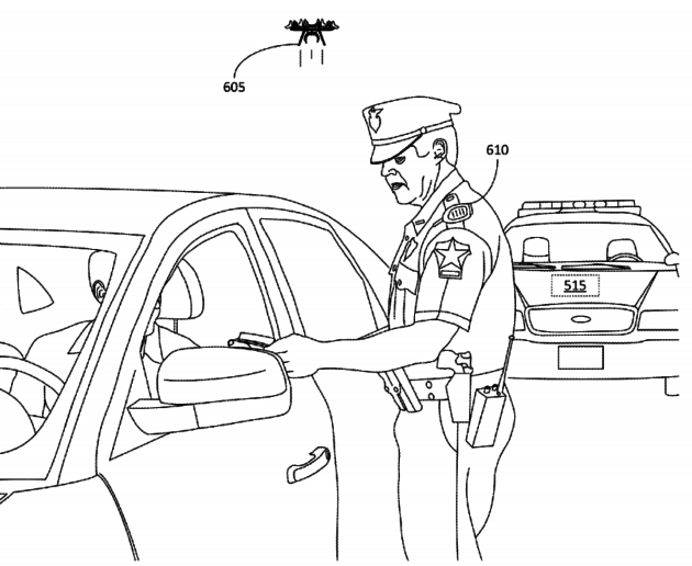Amazon filed for a patent on small voice-controlled drones.