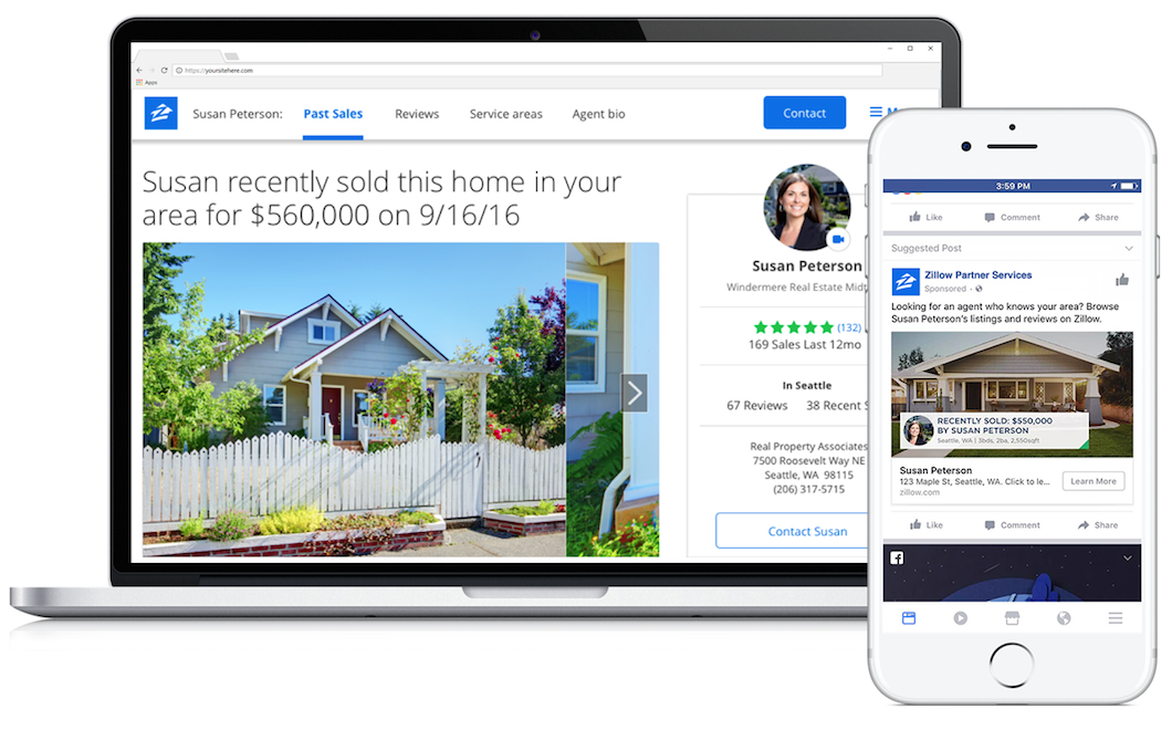 Zillow partners with Facebook to help agents better connect