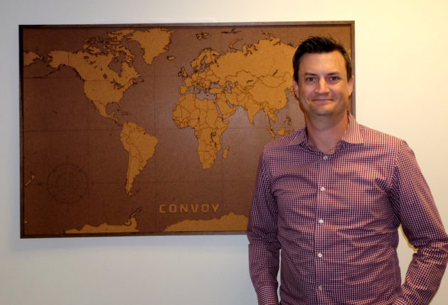 Convoy co-founder and CTO Grant Goodale.